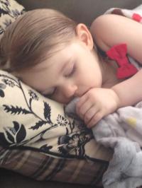 Lily Sleeping