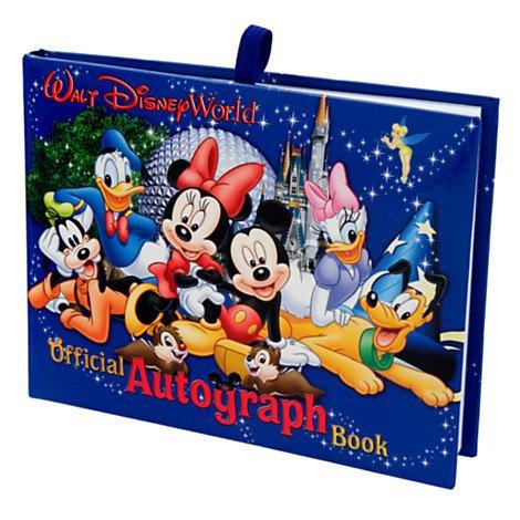 offical walt disney autograph book