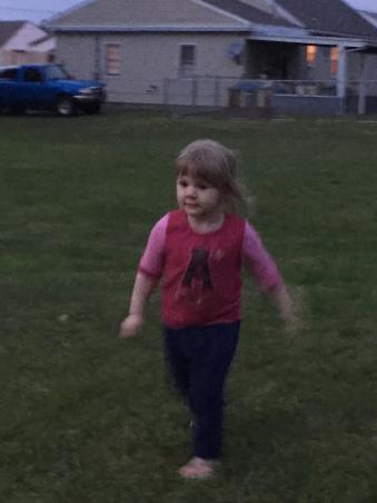 Running Lily